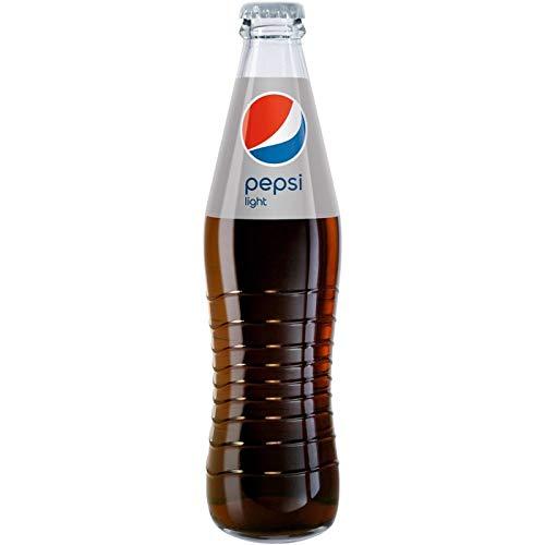 24 x Pepsi-Cola LIGHT 0,33L Glasflasche in Originalkiste MEHRWEG