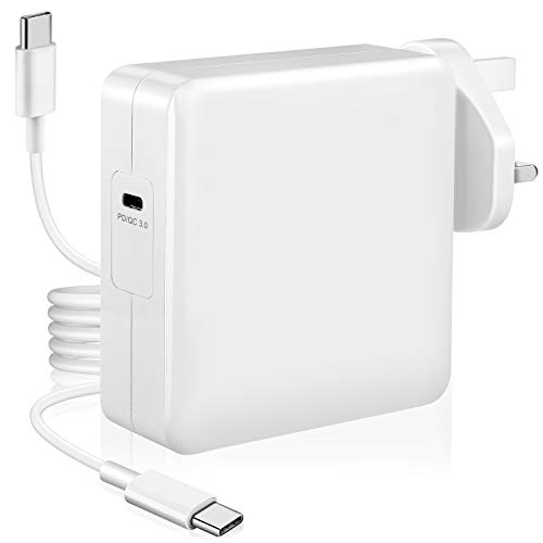 UNIQUE BRIGHT Compatible with Mac Charger USB C 61w 13 inch USB C Power Adapter PD Quick Type C Charger for mac book 2016-2020