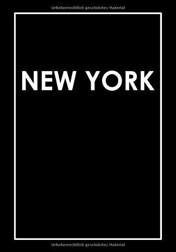 New York: Coffee Table Book | Dekoratives Wohnaccessoire zum Ausschmücken von Regalen, Tischen, Fensterbänken und mehr! | Größe: L | Cover: Schwarz (Metropolen der Welt | L | Schwarz, Band 1)