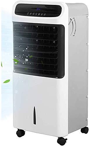 FENGLI Evaporative Luftkühler/Heizung Ventilator-bewegliche Luftkühlung/Heizung Lüfter Kühler/Befeuchten/Entschlacken/Heizfunktion mit Fernbedienung und LED-Anzeige.