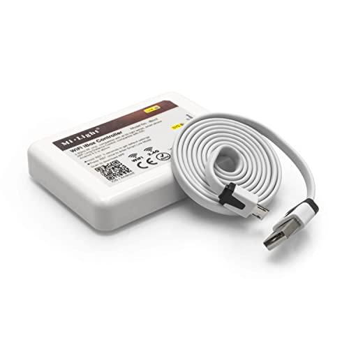 WiFi Sans Fil Controller Hub for LED/4 – Zone/RGB, RGBW, 2.4 GHz