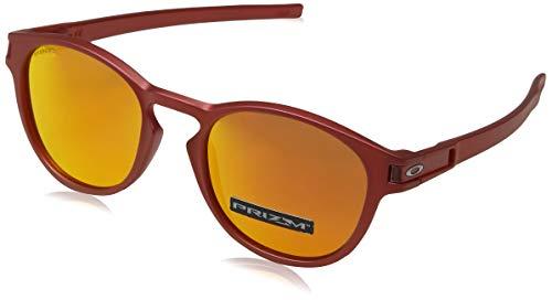 Oakley Latch Gafas de sol, Ir Red W/Prizm Ruby, 0 Unisex