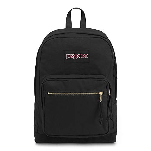 JanSport Right Pack Expressions Laptop Backpack - Black/Gold