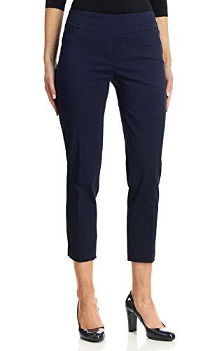 Zac & Rachel Women's Millenium Ankle Pants, Navy Blazer, 12