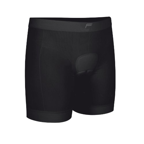Flite Pantalón Corto de Ciclismo con Acolchado Cosido Body para Mujer, Negro, M, 20-1008-7-2-0002