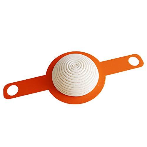 Esenlong Alfombrilla de silicona para hornear con asas largas, antiadherente, para cazuelas, reutilizable, para hornear