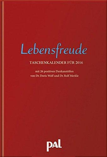 Taschenkalender Pal Lebensfreude 2016