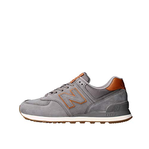New Balance Mens ML574NBA_44,5 Sneakers, Grey, 44.5 EU