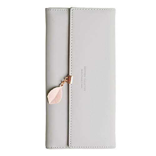 Puerta moneda Mujer, Monedero, piel bifold wallet piel piel piel tipo tarjetero Monedero de piel A- Couleur 06 talla única