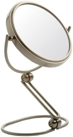 Jerdon Jerdon mc450n folding travel mirror nickel product image