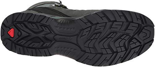 Salomon Homme Chaussures de Randonnée, QUEST PRIME GTX, Couleur: Vert (Balsam Green/Tropical Green/Beach Glass), Pointure: EU 40