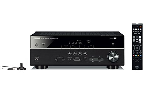 Yamaha RXV385 51Channel 4K Ultra HD AV Receiver with Bluetooth