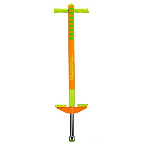 Flybar Limited Edition Foam Maverick Pogo Stick for Boys & Girls, Ages 5-9 (Orange/Lime) Comes With New