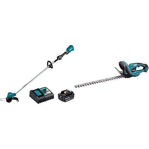Find Discount Makita XRU11M1 18-Volt LXT Lithium-Ion Brushless Cordless String Trimmer Kit, 4.0Ah wi...