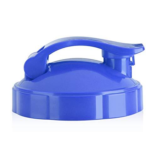 Flip-Top Deckel-1Pc Dichtung Flip-Top Deckel Ersatz für 600W 900W Entsafter Flasche (Farbe : Blau)