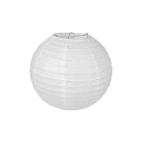 Pajoma 71694–Lámpara de techo, papel, color blanco, 20x 20x 20cm (1unidad)