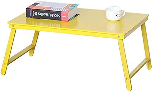 Sólido mesa plegable de madera Desayuno Bandeja ergonómica Notebook Laptop Stand tabla Cama, Escritorio del estudio, portátil mesa de bar, Niveles abatibles, soporte for portátil, plegable Mesa portát