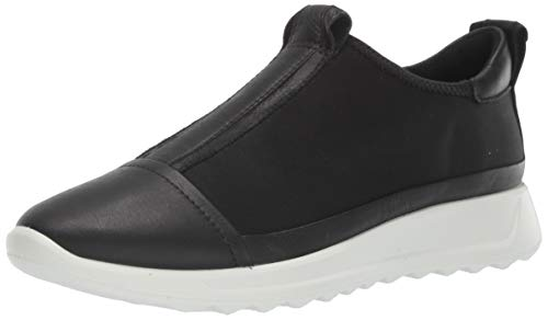 ECCO FLEXURERUNNERW, Zapatillas sin Cordones Mujer, Negro (Black/Black/Black/Black 51562), 38 EU