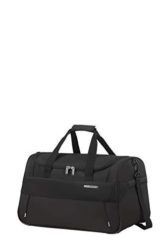 Samsonite Duopack - Borsone S, Bagaglio a mano, 53 cm, 55 L, Nero (Black)