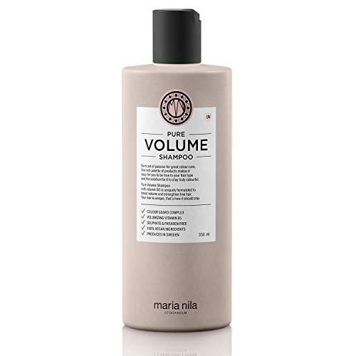 Maria Nila - Pure Volume Shampoo 350ml | Shampoo für mehr Volumen - Vitamin B5