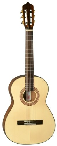 LA MANCHA 211208 Rubi S/59 Konzertgitarre mit schwarzen Knöpfen