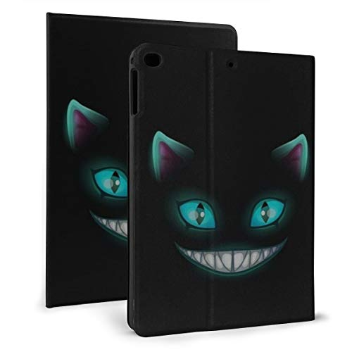 Night Cat In The Dark Case For Ipad Mini 4/5 7.9 Inch Cover Protective Smart Trifold Stand Cover With Auto Sleep/Wake For Apple Ipad Tablet