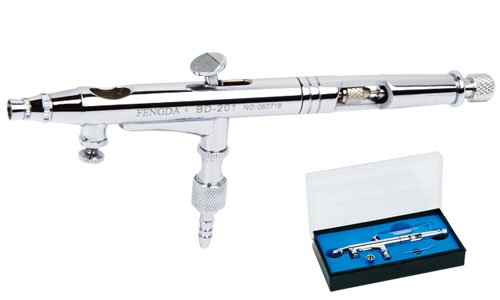 Pistolet á peinture Aérographe Fengda® BD-201 avec buse 0,2 mm