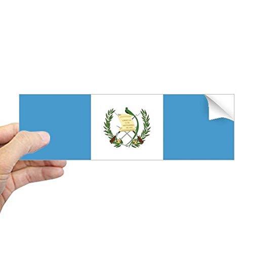 DIYthinker Guatemala Nationale Vlag Noord-Amerika Land Rechthoek Bumper Sticker Notebook Window Decal