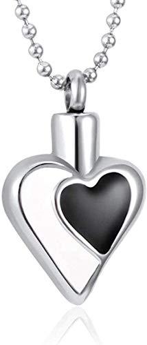 TYBM Novedad Collares Colgantes Urna De Cremación Joyería Conmemorativa Collar con Colgante De Urna De Mujer Collar De Mujer ∕ Collar De Urna Colgante De Urna De Perro Joyas De Acero