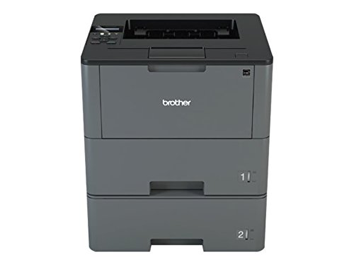 Brother Monochrome Laser Printer, HL-L6200DWT, Duplex Printing, Mobile Printing, Dual Paper Trays, Wireless Networking, Amazon Dash Replenishment Enabled