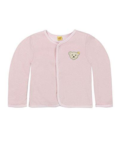 Steiff Unisex Baby 6617 Sweatshirt, Rosa (Barely Pink 2560), (Herstellergröße: 68)