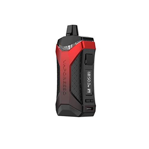 Vaporesso XIRON Pod Kit 1500mAh, 50W Cigarette électronique Kit Complet,Sans Nicotine ni Tabac (Rouge)