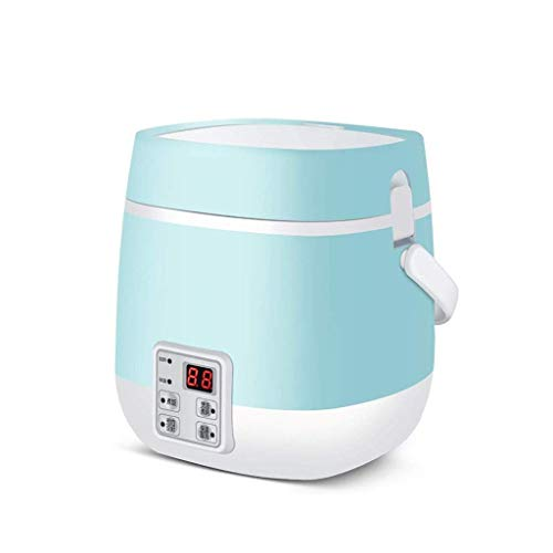 Multifunktions-Elektroherd, Skillet Wok Elektro Hot Pot for Koch Reis gebratene Nudeln Eintopf-Suppe Gedämpfter Fisch gekochtes Ei (Farbe: Grün) (Farbe: Pink) lalay (Color : Green)