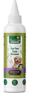 PawzVida 8 oz Eye Tear Stain Remover for Dogs, Cats & Horses-Naturally Formulated for Gentle&Effective Cleaning-Bleach Fre...