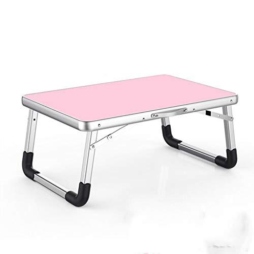 Lapdesks Laptop bureau huis eenvoudige opvouwbare slaapzak lui tafel klein bed 68 cm * 28 cm