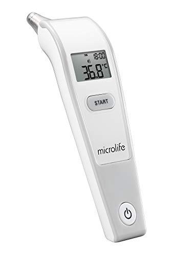 """Microlife IR 150 Termómetro Infrarrojos de Oído con Tecnología limpia""""Crean Me"""""""