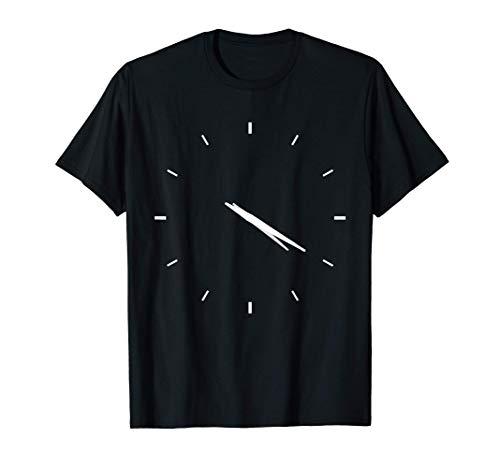 Subtle Stoner Gift, 420 Clock, THC Marijuana Vaporizer Weed T-Shirt