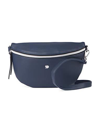 TOM TAILOR DENIM Damen Taschen & Geldbörsen Gürteltasche Rosie Dark Blue Cognac,OneSize