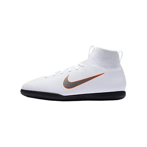 Nike Mercurial Superfly X 6 Club IC JR AH7346, Unisex Fußballschuhe, Mehrfarbig (Indigo 001), 37.5 EU (4.5 UK)