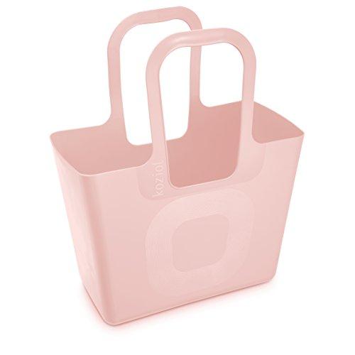 koziol Tasche Tasche XL, Kunststoff, powder pink, 21.5 x 44 x 54 cm