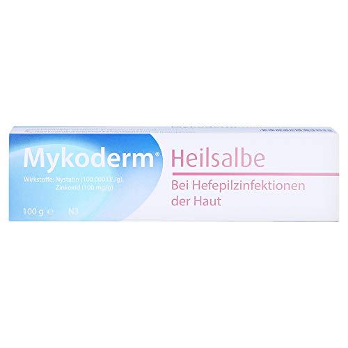 MYKODERM Heilsalbe Nystatin u.Zinkoxid 100 g