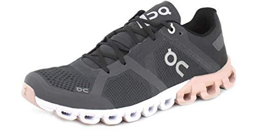 On-Running Womens Cloudflow Cloudflow Rock/Rose Running Shoe - 8