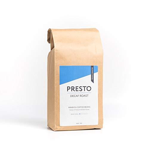 Presto Kaffeebohnen - Mild gerösteter Kaffee - 100% Arabica - 1kg