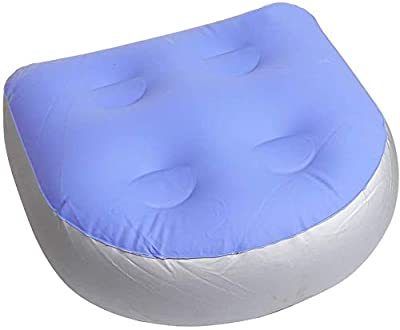 Merkisa Back Pad Spa Cushion Massage Mat Soft Inflatable Booster Seat for Adults Kid, Suitable for All Spas and Hot Tubs.