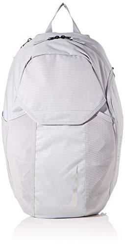 Nike Unisex-Erwachsene Academy Backpack Ba5508-012 Fußball-rucksack, Silber (Silver), 18x31x48 cm (B x H x T)