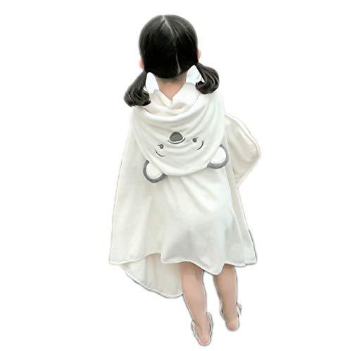 Baby Hooded badhanddoeken, Children's Animal Picture Cloak Super Soft absorberend en sneldrogend handdoek met kap voor het Meisje van de Jongen