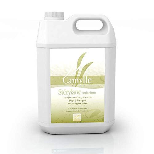 Camylle - Stérylane Solar prêt à l'emploi - Nettoyant et désinfectant de plaques en acryl et banquettes de solarium - - 5000ml