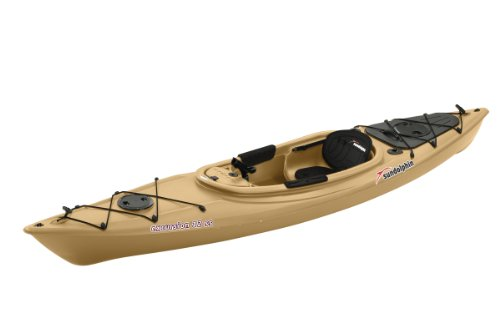 Sun Dolphin Excursion Sit-in Fishing Kayak (Sand, 12-Feet)