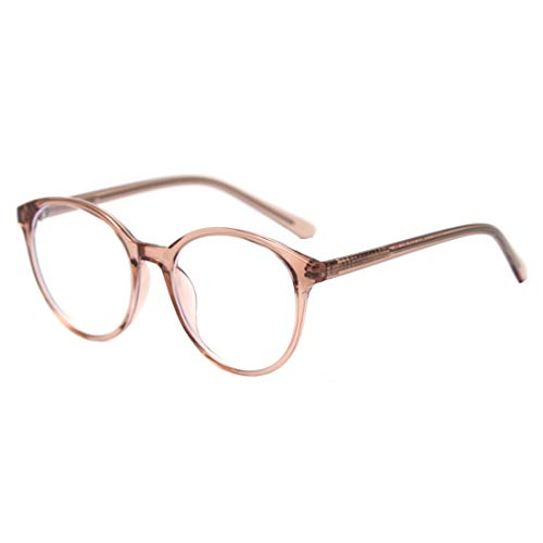 IOSHAPO Unisex Blauw Licht Blokkerende bril Vintage Ronde Tablet lezen/Gaming/Telefoons bril