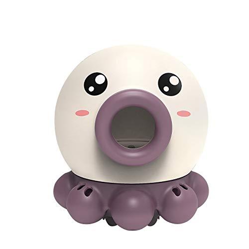 Juguete de Baño, Pulpo Rociador de Agua Puede Rotar con Fuente, Flota en Bañera, Ducha, Baño, Piscina Juguete para Bebé, Niño, Fiesta Infantil - Bomba de Agua